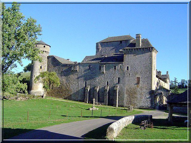 Le château médiéval des Bourines en Aveyron est composé d'un puissant donjon habitable au centre d'un dispositif défensif. Il semble que le temps n'ait eu aucune influence sur son architecture.