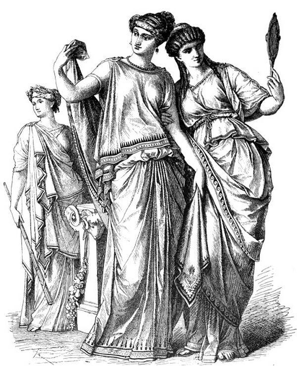 Ancient Median (Kurdish) women