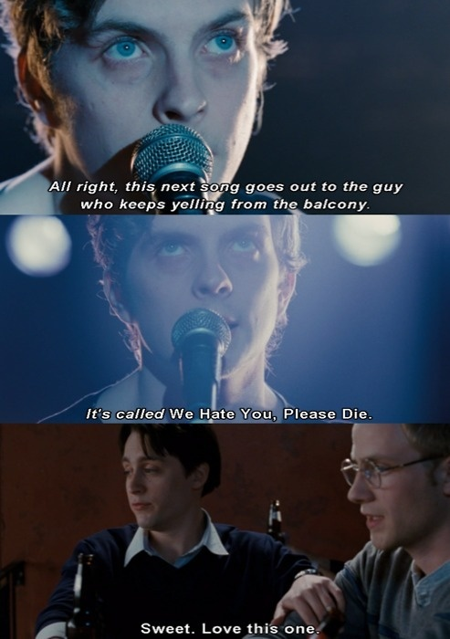 Scott Pilgrim vs. The World - this is one of my favorite parts! haha