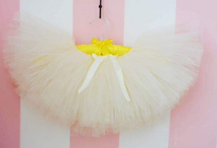 Madame Allure - Spódniczka tiulowa tutu - kremowa  Madame Allure - internetowy butik ślubny