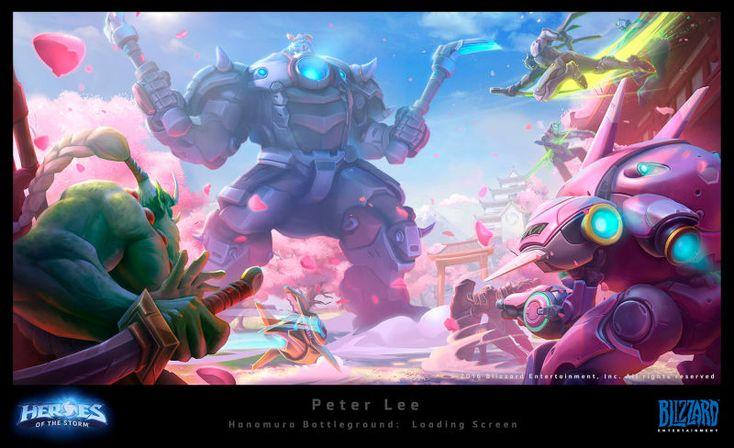 The Art of Blizzard's Heroes of the Storm   Kotaku UK