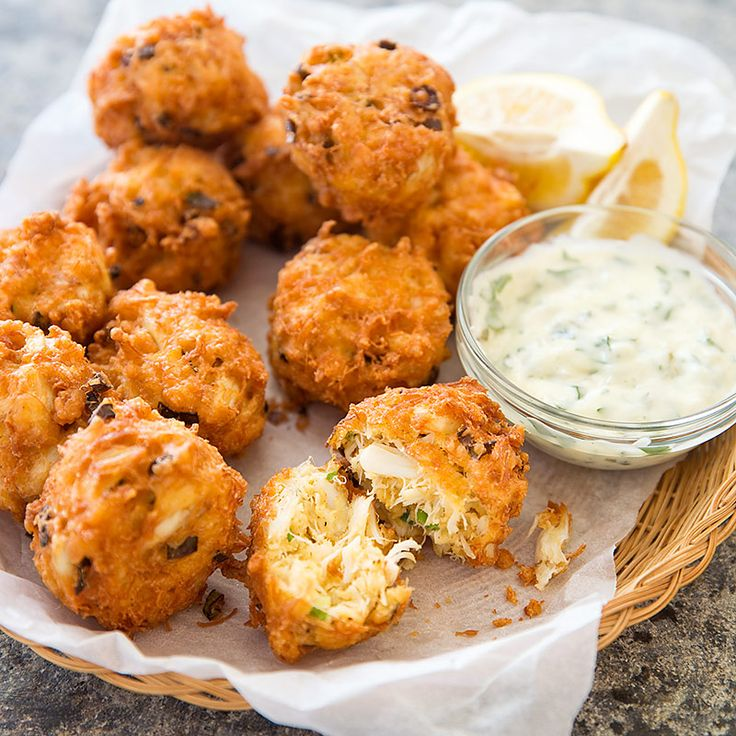 Maryland takes crab cakes one step further to create Crab Fluff—the crab mixture is battered and deep fried to perfection.
