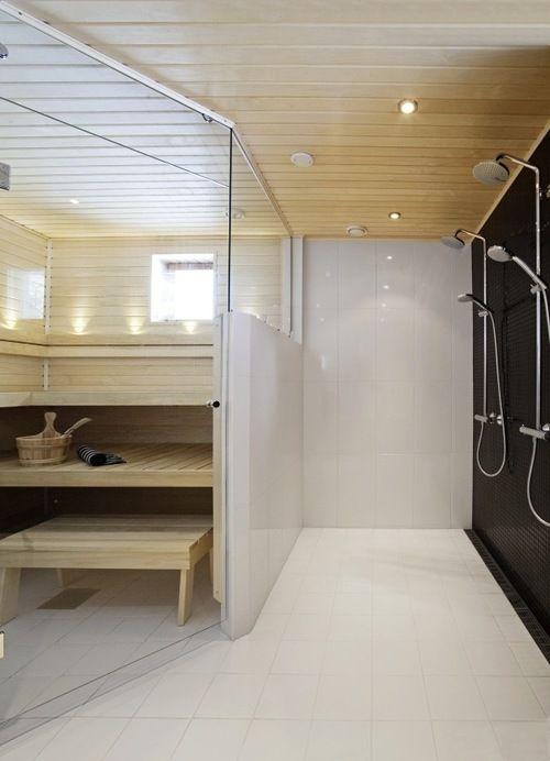 die besten 25 scandinavian saunas ideen auf pinterest. Black Bedroom Furniture Sets. Home Design Ideas