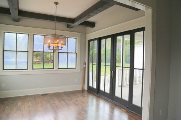 Consider Black Windows and Doors To Punctuate Your Color ...