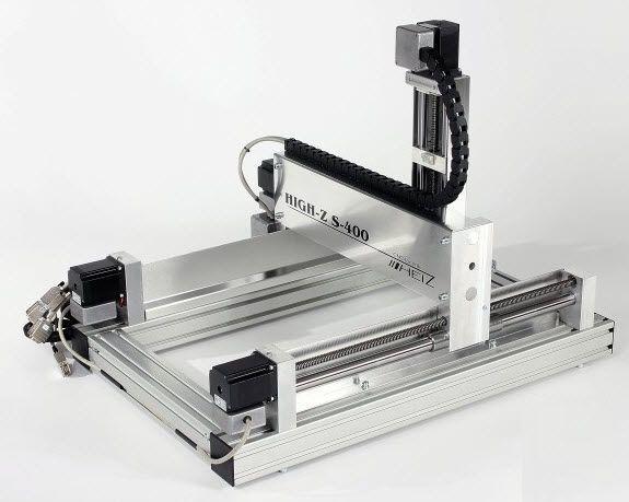 コンピューター数値制御(CNC)ルーター / 3 軸 / 1 スピンドル式 / ポリ塩化ビニル用 - High-Z S-400 - CNC-STEP e.K. / 3D CNC Router, Engraving machines - 動画