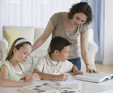 Help Kids With Homework - When and How Much a Parent Should Help With Homework