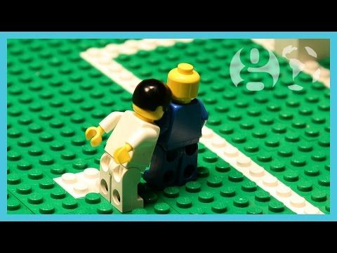 World Cup 2014 Highlights | Suarez bite, David Luiz free kick, Neymar injury | Brick-by-brick - YouTube