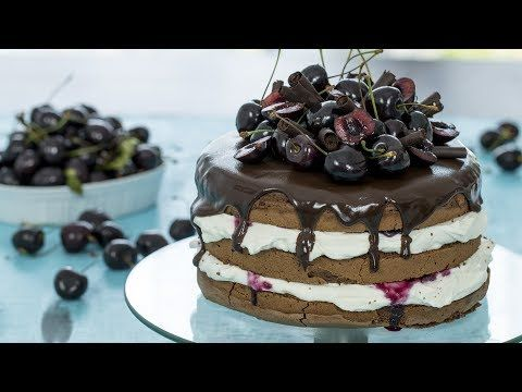 Black Forest Cake :: Home Cooking Adventure