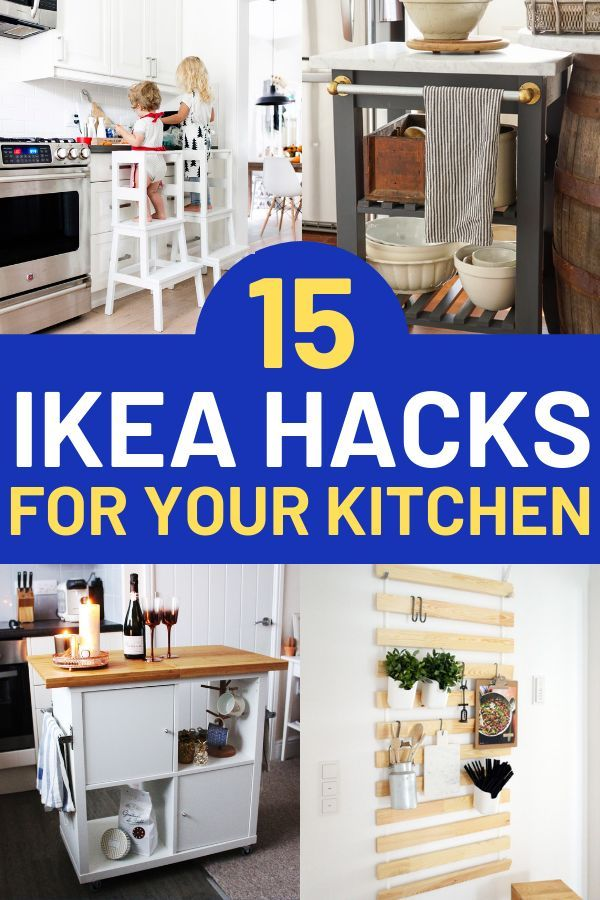 15 Ikea Kitchen Hacks You Don T Want To Miss Out On Ikea Kitchen Island Best Ikea Ikea Small Spaces