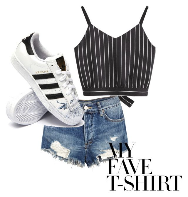 """🖤"" by isagarcia18 on Polyvore featuring Free People and adidas"