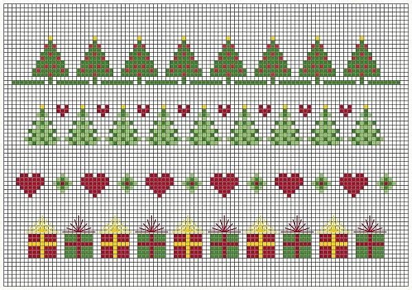Kleine kerst patroontjes