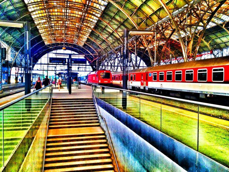 Praha hlavní nádraží | Prague Main Train Station in Praha, Hlavní město Praha