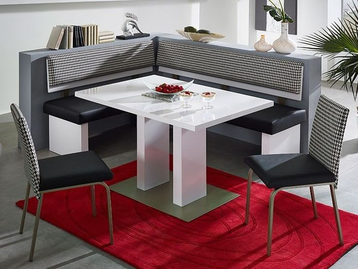 cool booth kitchen table with red carpet underneath : corner booth kitchen table set - Pezcame.Com