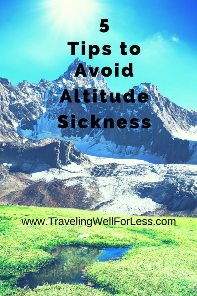 Natural remedies for acute mountain sickness