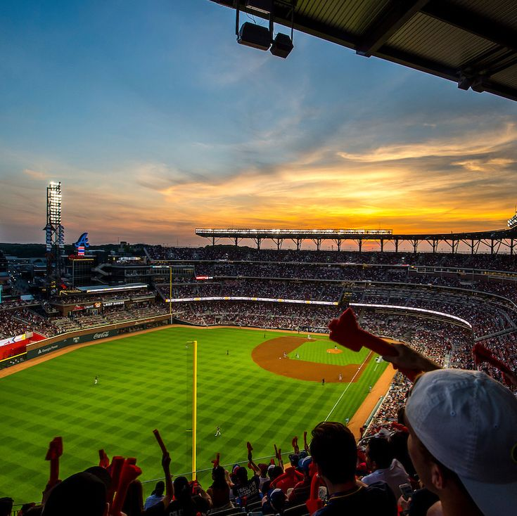 According to Buzzfeed, @suntrustpark is the most Instagrammed location in the state of Georgia for 2017! Thank you for sharing all of your incredible photos of our new home! #ChopOn