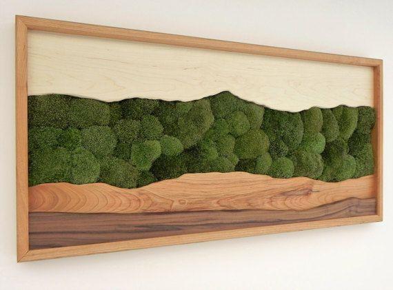1000 ideas about moss wall art on pinterest moss wall moss art and living walls. Black Bedroom Furniture Sets. Home Design Ideas