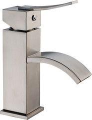 Dawn AB78 1258BN Single Leve Square Lavatory Faucet with Sheetflow Spout