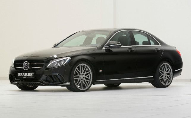 Mercedes C180 Brabus chega ao país por R$ 159 mil +http://brml.co/1KxX6qD