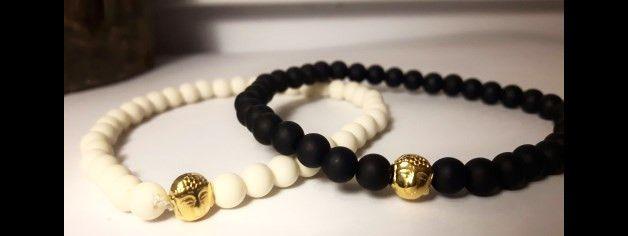 ♥Polaris Armband Buddha gold für Sie oder Ihn♥