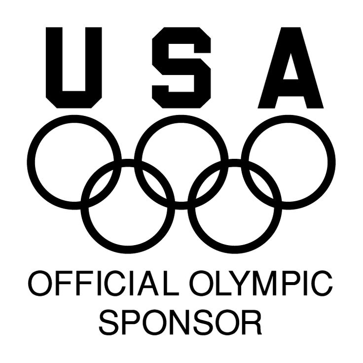 Usa official olympic sponsor Free Vector / 4Vector