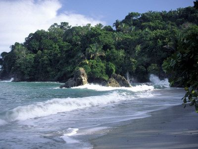 The most perfect beach I've ever been to. Manuel Antonio, Costa Rica
