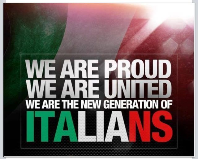 Proud to be an Italian!