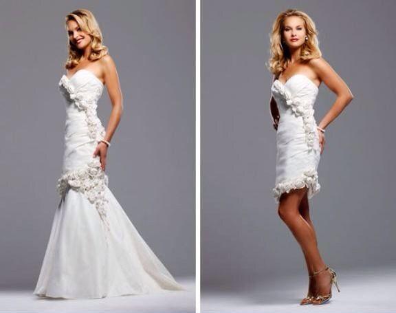 Style Eva By David Tutera By Faviana Size 8 Cream. Wedding Dress