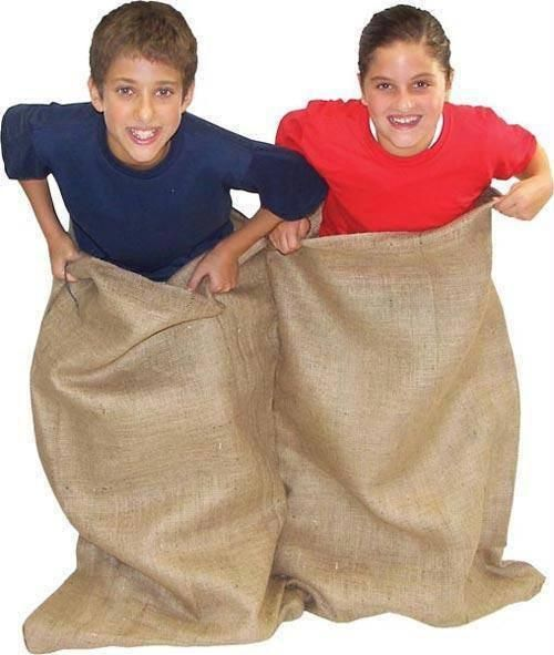 Double Burlap Potato Sacks (Pack of 6)