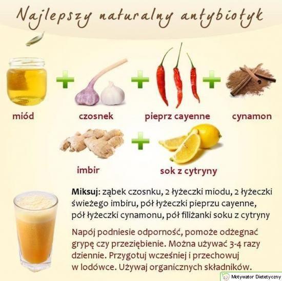 Najlepszy naturalny antybiotyk - Motywator Dietetyczny