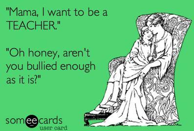 Cringy teacher humor, a Someecards orginal by VIVA Teachers.