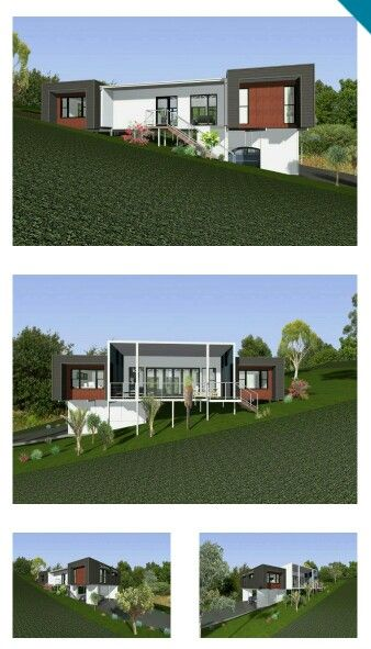 We may have a winner! Trim Concept Homes 'Cooinda' for upwards sloping block. Modern, cladding, interestjng.