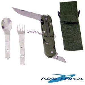 Arco e Flecha - Conjunto de Talheres Timber Canivete - Nautika R$ 28,00