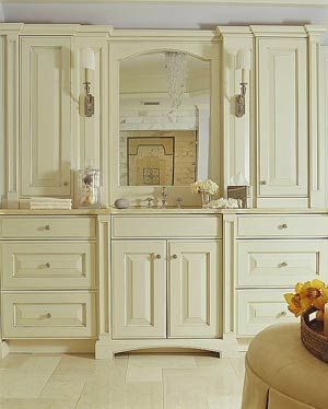 24 best french country bathrooms images on pinterest - French provincial bathroom vanities ...