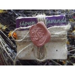 Natural Lavender Soap Herbaria