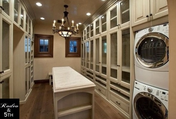 Laundry room mansion dreams pinterest for Master closet laundry room combo