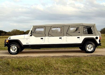Wrangler unlimited not enough how 39 bout a six door for Beds unlimited