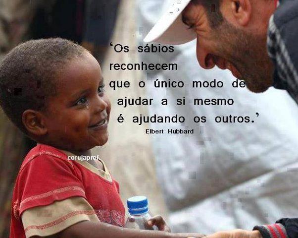A maior pobreza de um ser humano é a falta de riqueza no espirito.