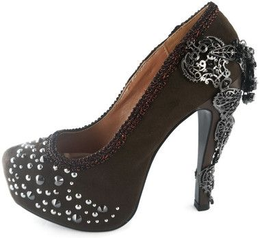 AMINA HEEL $A132.50 Sizes: 6-11 Available in Black, Red, Pewter & Brown Brand- Hades http://www.barrioessencez.com.au/amina/