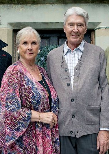 Thank you Timothy Carlton and Wanda Ventham/Mr. and Mrs Holmes for being the parents of our beautiful and talented Benedict/Sherlock