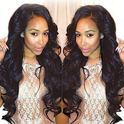 25 trending cheap human hair extensions ideas on pinterest longqi real brazilian virgin cheap human hair extensions body wave hair 3 bundles pmusecretfo Gallery