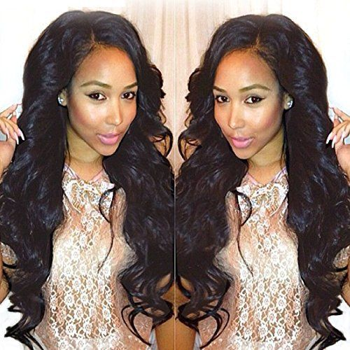 #longqi Real Brazilian Virgin Cheap Human #Hair #Extensions Body Wave Hair 3 Bundles  Full review at: http://toptenmusthave.com/best-human-hair-extensions/