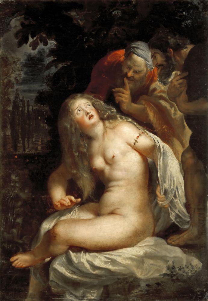 Питер Пауль Рубенс. Сусанна и старцы. 1608 г.