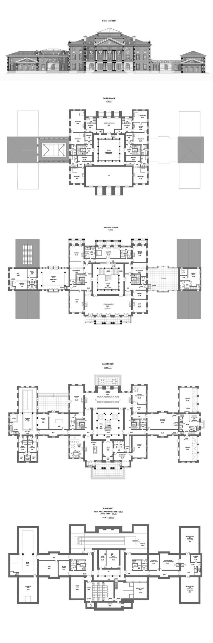 A HOTR Reader's 50,000 Square Foot Mega Mansion Design