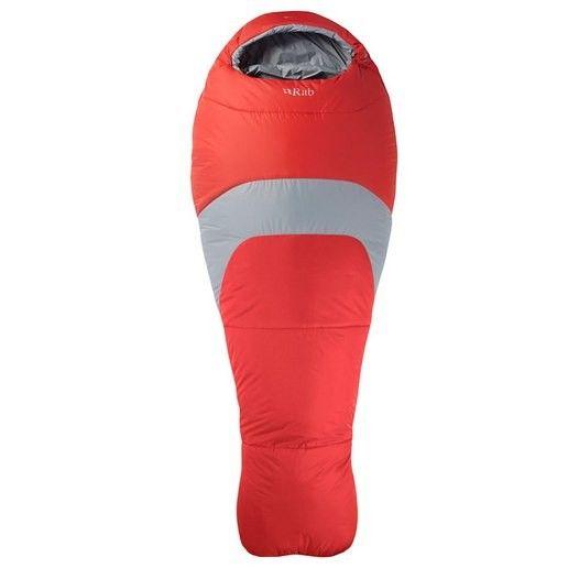 Rab Ignition 3 Left Zip tilbyr en lett og pakkbar serie av soveposer med syntetisk isolasjon. RAB® Ignition 3 er konstruert med en kombinasjon av polyester og 160g/m² Pyrotec-isolasjon for lett isolasjon og maks slitestyrke.   Limit EN13537:2012: -...