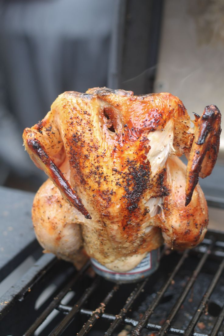 Beer Can Chicken - made this today, awesome, but used Guinness instead ...