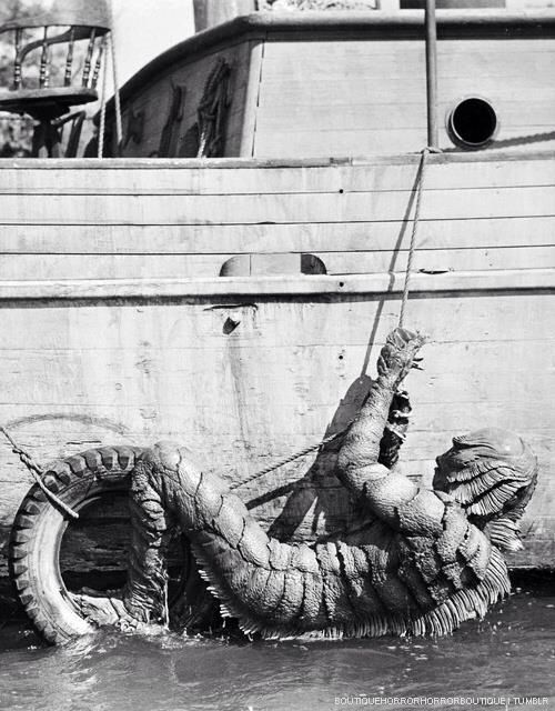 """All aboard """"The Creature from the Black Lagoon"""" (1954)"""