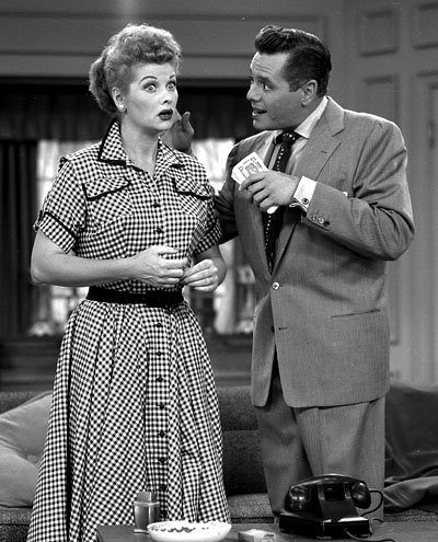 Lucille Ball And Desi Arnaz I Love Lucy