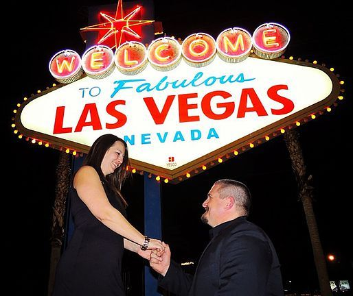 Have your Las Vegas Wedding where you want on the Strip for just $129.  The one of a kind Las Vegas Wedding Wagon is the only Mobile Las Vegas Wedding Chapel.