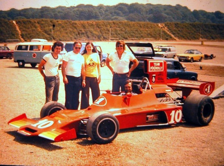 Mike Wilds (Team P-R-Reilly) Shadow DN3 - Ford