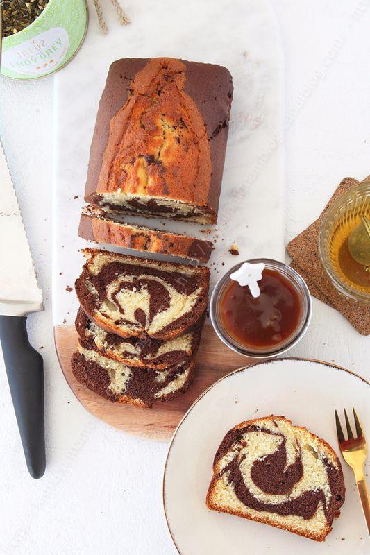 Le gâteau marbré au chocolat du chef Christophe Felder – le miam